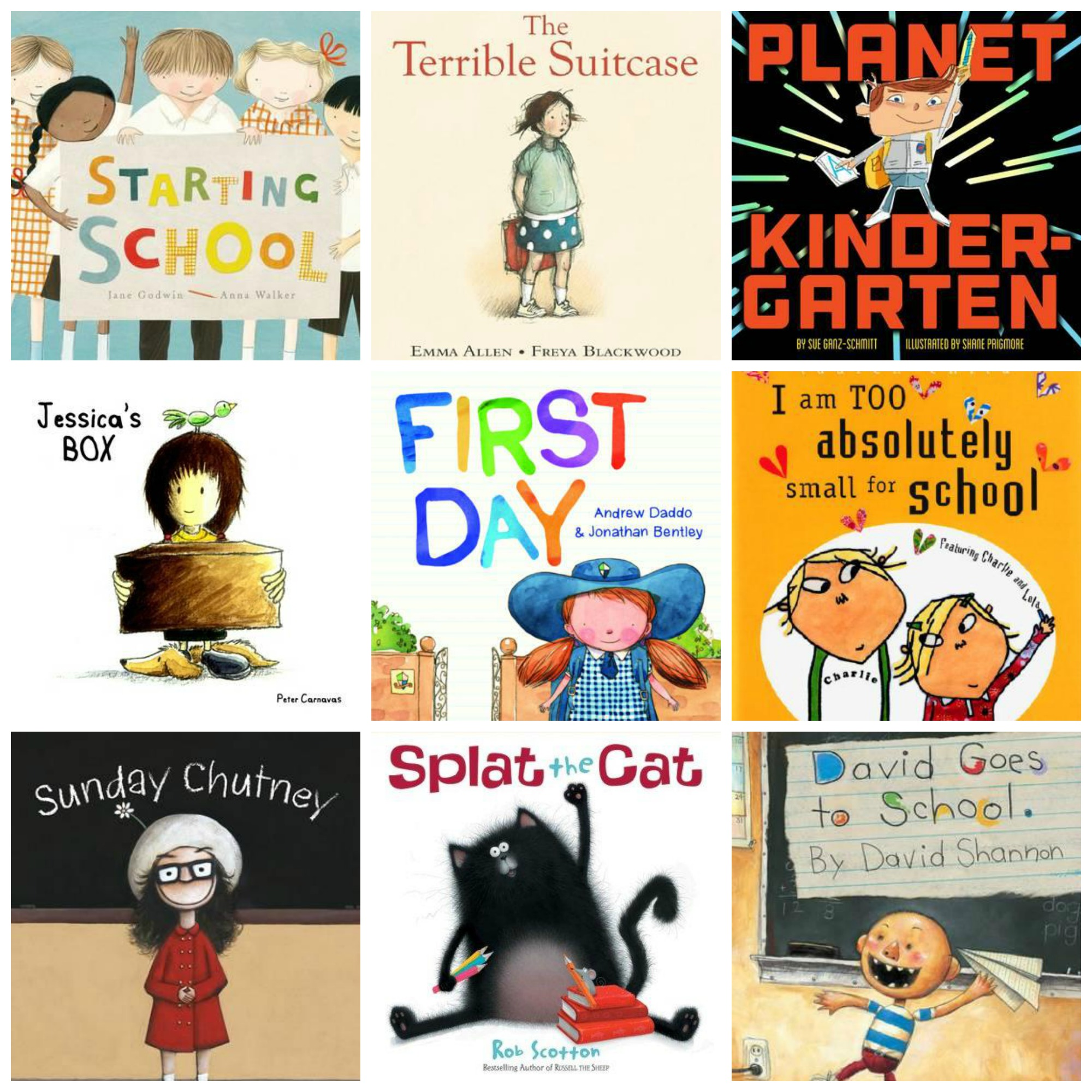 Picture Books About Starting School