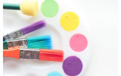 3-Ingredient Bath Paint For Kids
