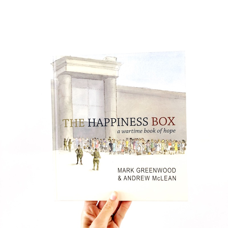 """An ANZAC DAY picture book titled """"The Happiness Book."""""""