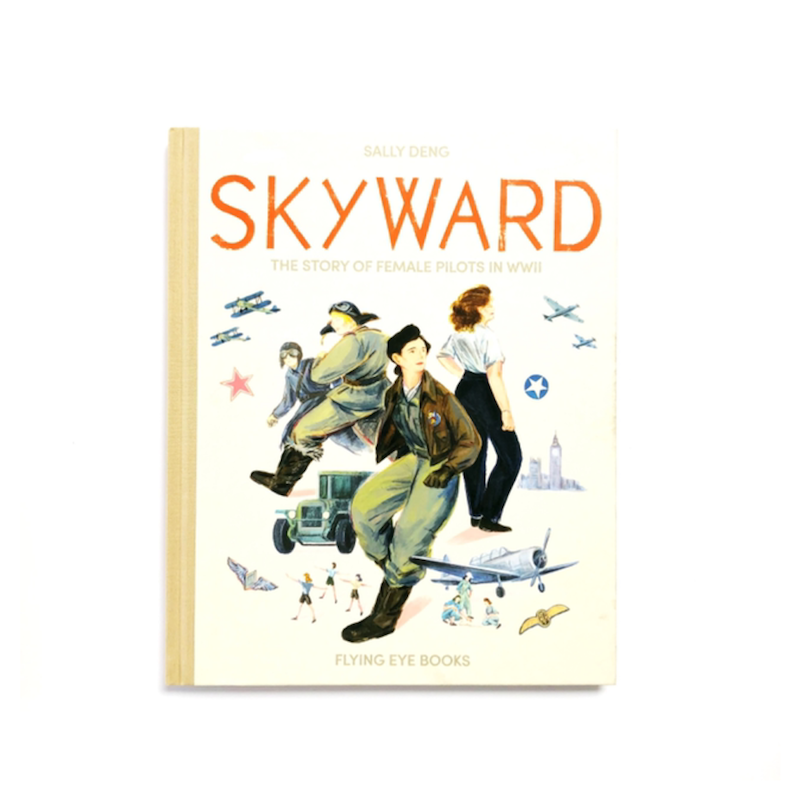 """An ANZAC DAY picture book titled """"Skyward."""""""