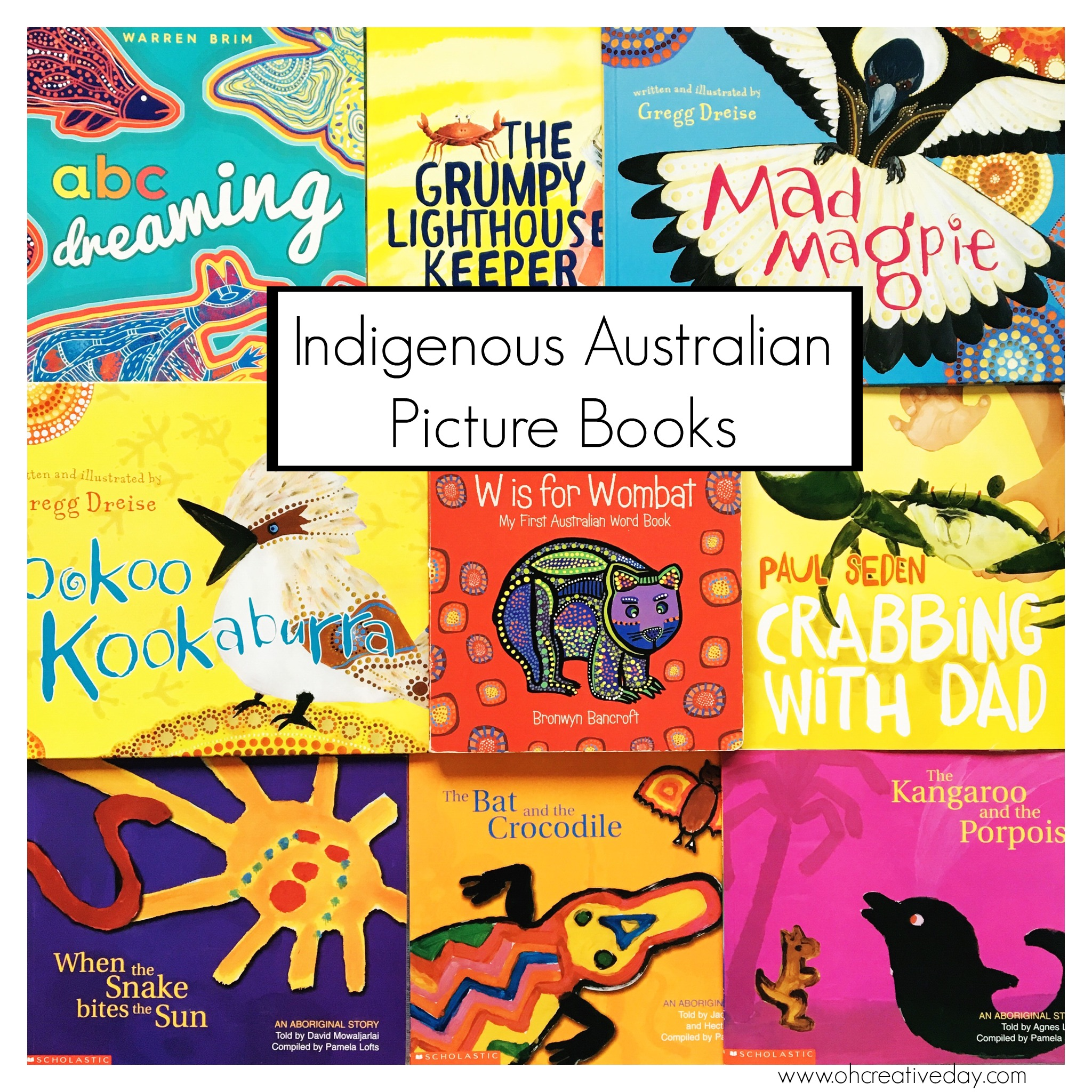 Indigenous Australian Picture Books