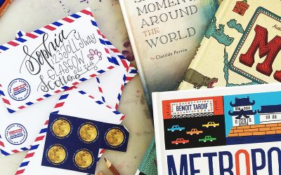 Pen Pals for Kids + Books About the World