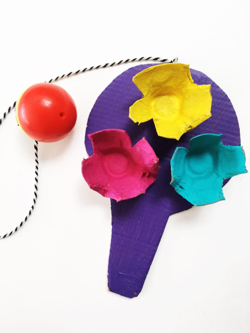 How to Make Your Own Paddle Ball Game