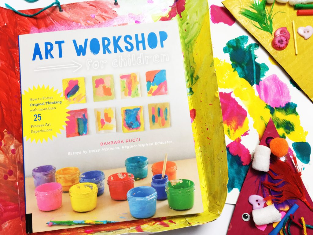 Art Workshop for Children by Barbara Rucci is one of my favourite go-to books when I need arty inspiration to create with my children. Even if you aren't confident at setting up arts and crafts experiences with your children, this book is packed with tips and suggestions.