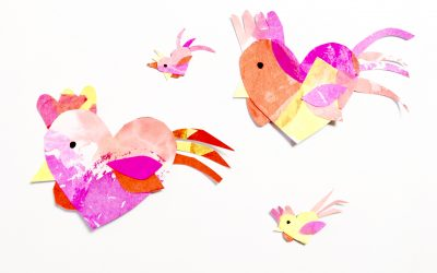 Rooster Craft for Chinese New Year