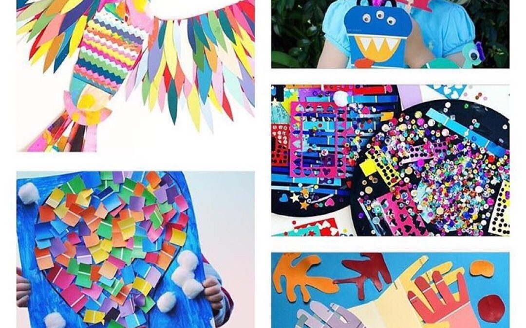 8 Ways to Get Creative With Paint Chips