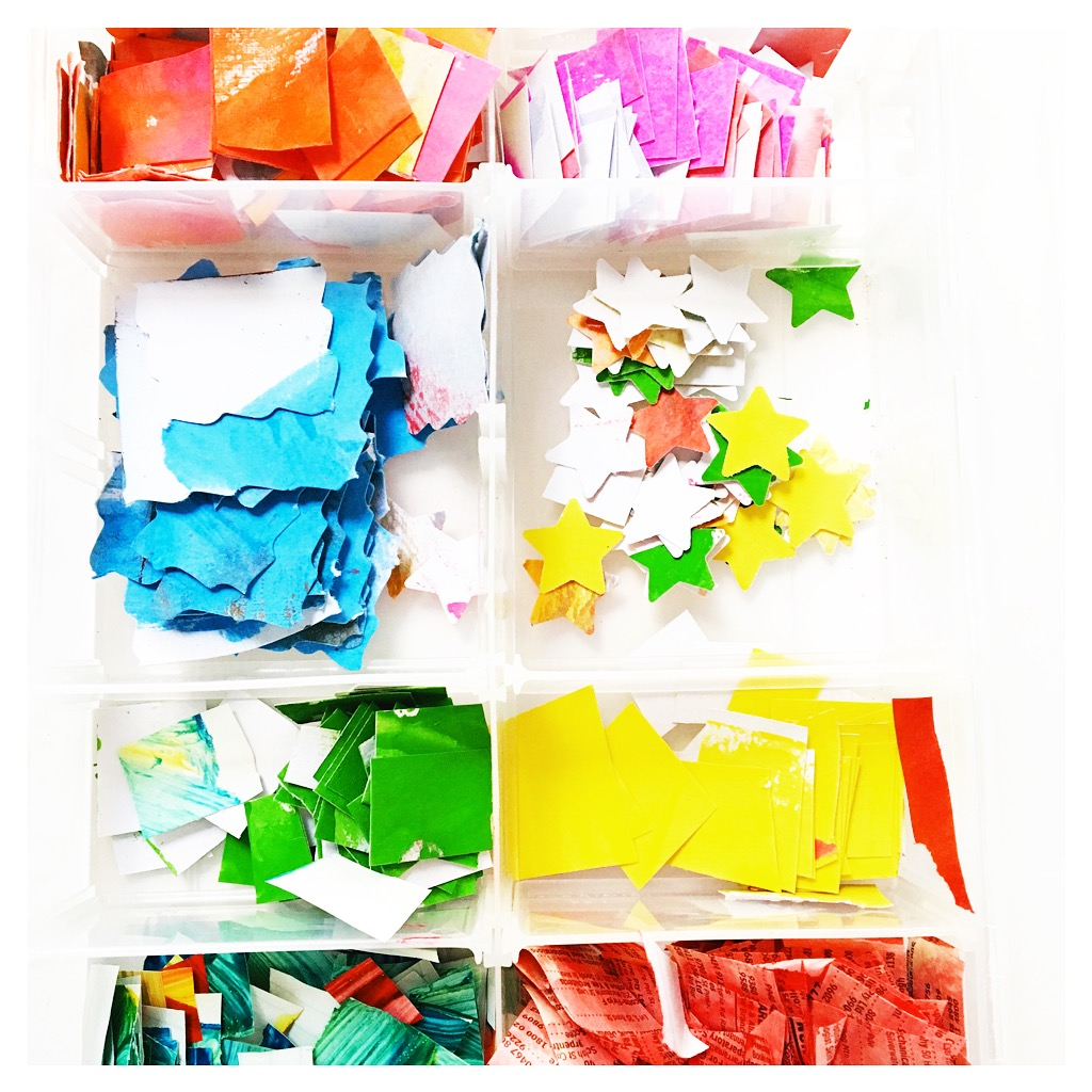 repurpose kids' artwork