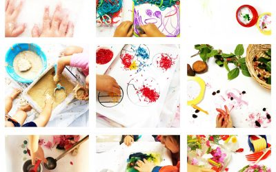 9 Sensory Play Ideas