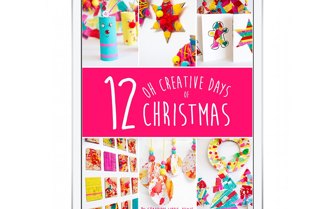 12 Oh Creative Days of Christmas eBook