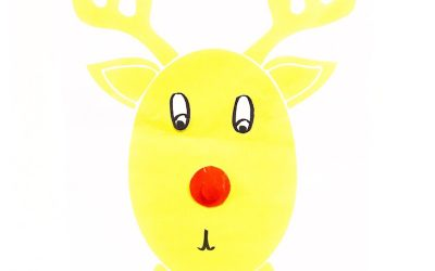 Free Printable Pin the Nose on Rudolph