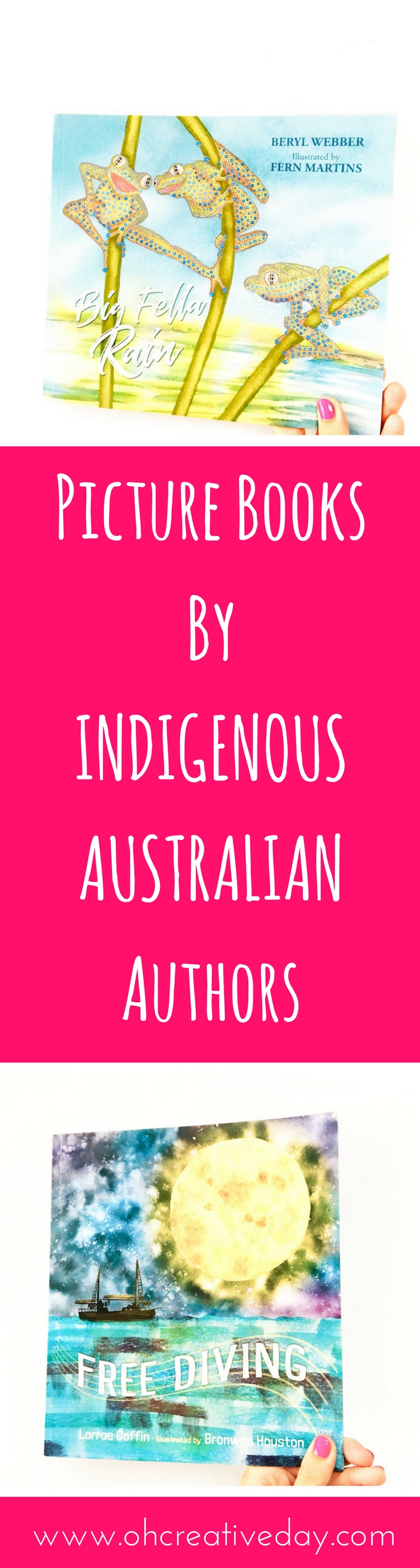 Looking to add more diverse Indigenous voices and perspectives to your child's book collection? Here are 6 recently published picture books by Indigenous Australian authors to add to your bookshelves.