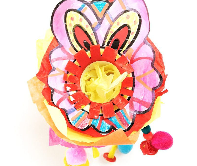Lion Dance Craft for Chinese New Year