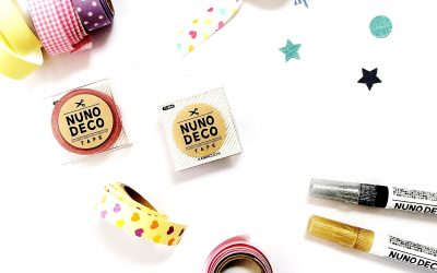 Get Crafty With Nuno Deco Iron-On Washi Tape