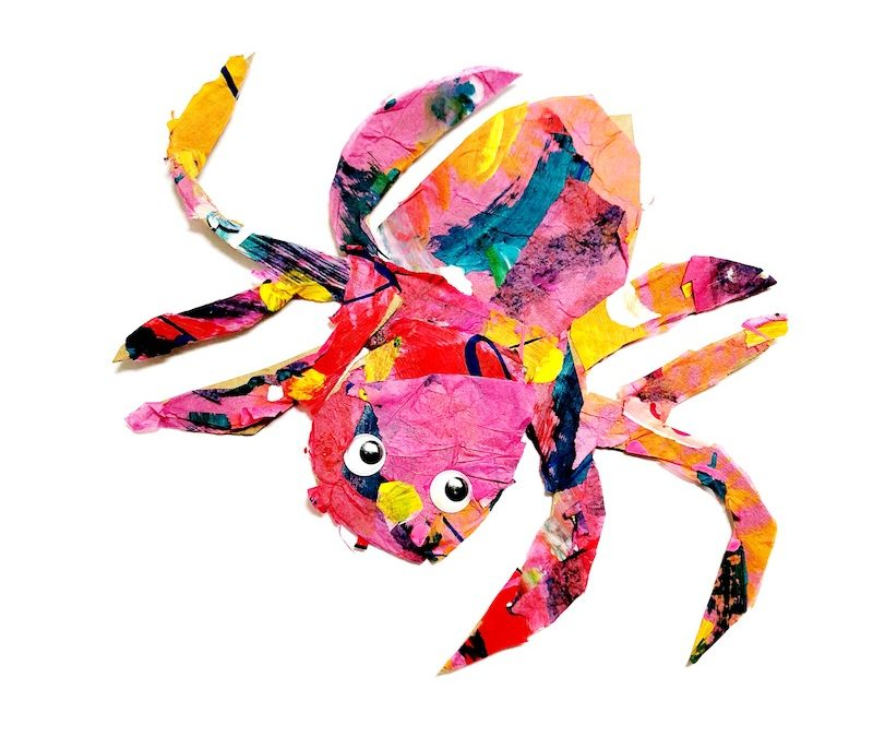 The Very Busy Spider Craft