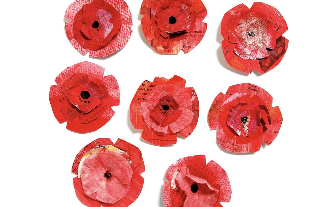 Paper Poppy Craft for Kids