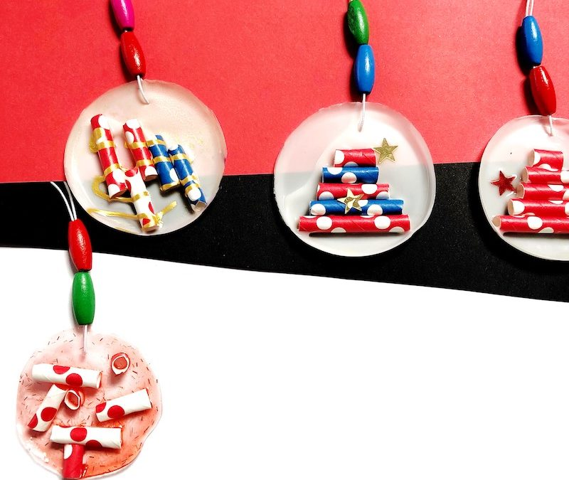 Kid-Made Christmas Ornaments