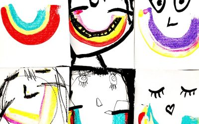 New Year, New You: Painted Self-Portraits for Kids