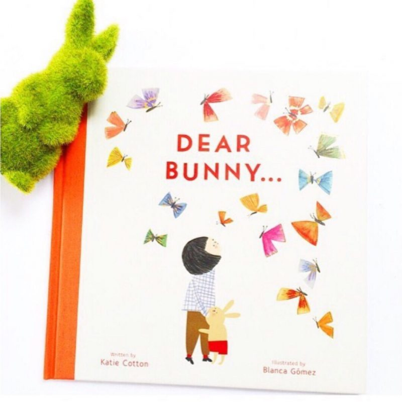 Cover of picture book Dear Bunny by Katie Cotton