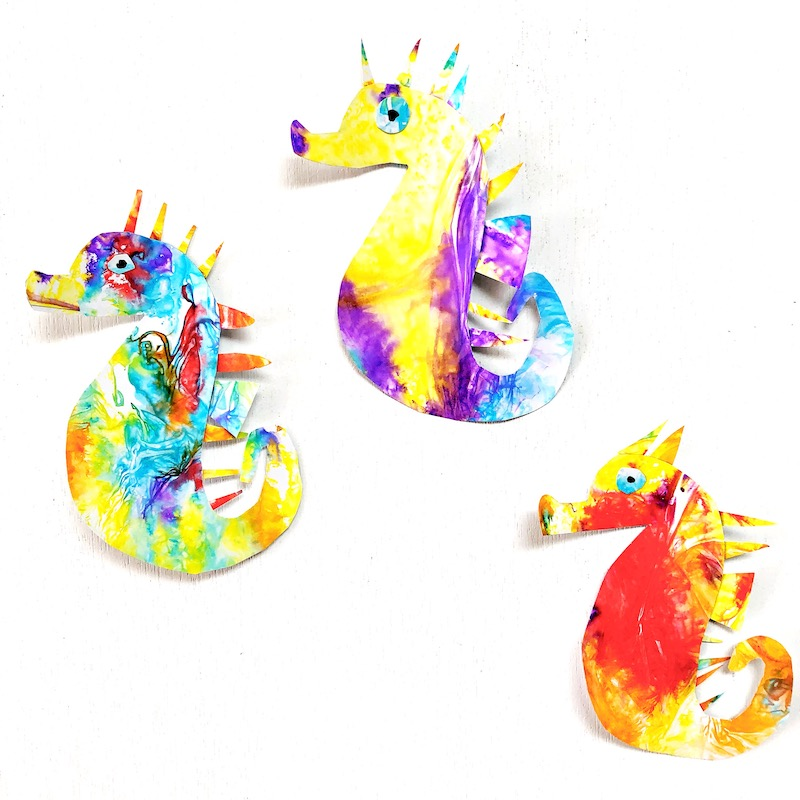 READ + CREATE: Mister Seahorse Art Project - Oh Creative Day