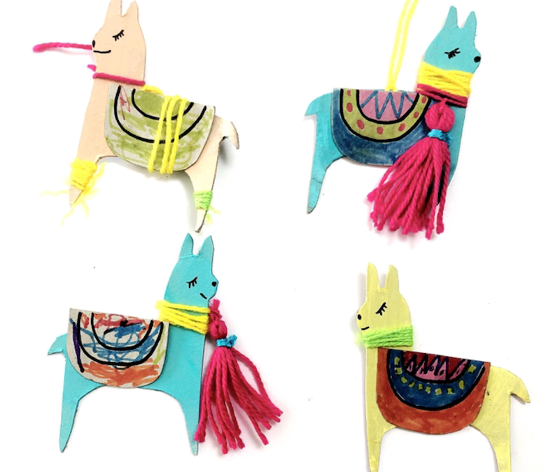 READ + CREATE: Macca the Alpaca Craft