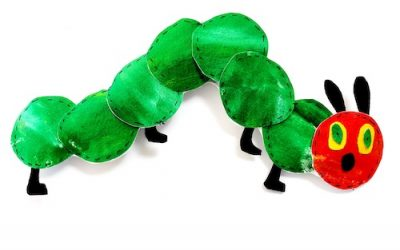 Very Hungry Caterpillar Craft: Sew A Softie Project