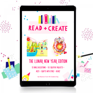 A picture of an eBook containing Chinese New Year activities for kids
