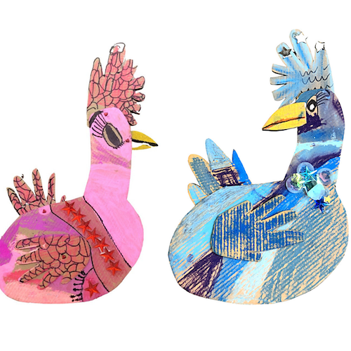 Chicken Divas Craft: National Simultaneous Storytime