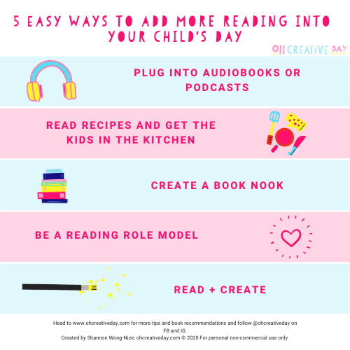 5 Ways to Encourage Kids to Read More