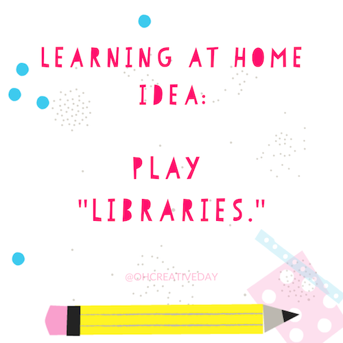 Reading with Children Tip: Play 'Libraries'