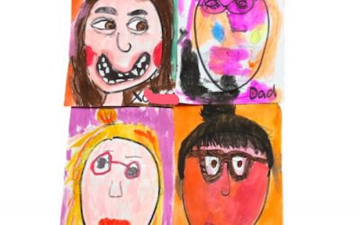 A Simple Drawing Game for Kids: Pass the Portrait
